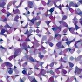 Teste padrão violeta do círculo do vetor retro Foto de Stock Royalty Free