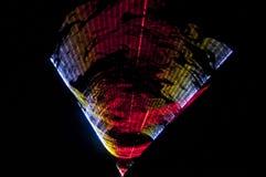 Teste padr?o colorido do fundo do laser do feixe com linhas e listras imagem de stock royalty free