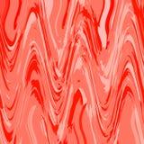 Teste padr?o de ziguezague na cor coral de vida Ombre Chevron com efeito de mármore ilustração stock