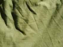Teste padr?o do fundo da textura C?quis de seda da tela, verde, cinza de campo Drapeje, cortina imagens de stock