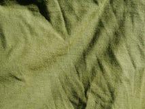 Teste padr?o do fundo da textura C?quis de seda da tela, verde, cinza de campo Drapeje, cortina imagem de stock royalty free