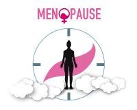 Teste padr?o dos elementos do fundo da menopausa, cartaz abstrato do neg?cio da qualidade super ilustração stock