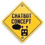 Teste padr?o dos elementos do fundo de Chatbot adiante, cartaz abstrato do neg?cio da qualidade super ilustração do vetor