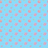 Teste padr?o floral da aquarela sem emenda com pe?nias cor-de-rosa ilustração stock