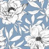 Teste padr?o floral ilustração stock