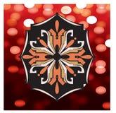 teste padr?o geom?trico floral com detalhes abstratos ilustração royalty free