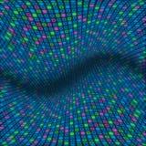 Teste padrão abstrato de quadrados pastel Foto de Stock Royalty Free