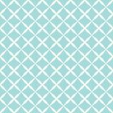 Teste padrão azul Fotos de Stock Royalty Free