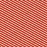 Teste padrão branco vermelho listrado diagonal Linhas retas fundo da repetição abstrata da textura Fotos de Stock Royalty Free