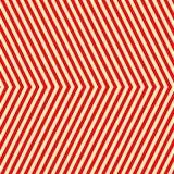 Teste padrão branco vermelho listrado diagonal Linhas retas fundo da repetição abstrata da textura Imagens de Stock Royalty Free
