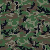 Teste padrão camuflar Imagens de Stock