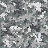Teste padrão camuflar de Digitas Imagem de Stock Royalty Free