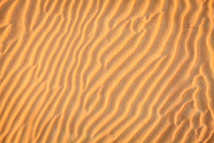 Teste padrão da areia Fotografia de Stock