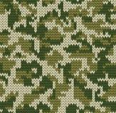 Teste padrão da camuflagem de Digitas Fotos de Stock Royalty Free