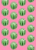 Teste padrão da melancia Imagem de Stock Royalty Free