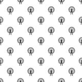 Teste padrão da roda de Ferris, estilo simples Imagem de Stock Royalty Free