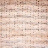 Teste padrão da textura da parede de tijolo vermelho para o fundo Fotos de Stock