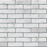 Teste padrão da textura do fundo da parede de tijolo do vetor Fotos de Stock Royalty Free
