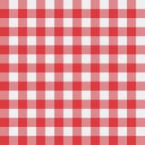 Teste padrão da toalha de mesa do piquenique Fotos de Stock