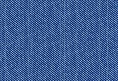 Teste padrão das calças de brim Foto de Stock