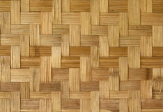 Teste padrão de bambu do weave Imagens de Stock