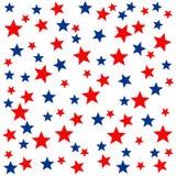 Teste padrão de estrela sem emenda Fotografia de Stock Royalty Free