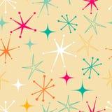 Teste padrão de estrelas retro Imagens de Stock