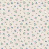 Teste padrão de flor bonito minúsculo sem emenda Fotografia de Stock Royalty Free