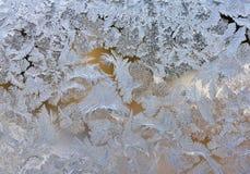 Teste padrão de Frost Imagem de Stock