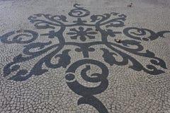 Teste padrão de mosaico artístico Fotografia de Stock Royalty Free
