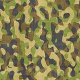 Teste padrão de pano camuflar Foto de Stock Royalty Free