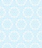 Teste padrão decorativo branco Foto de Stock Royalty Free