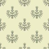 Teste padrão decorativo sem emenda Fotografia de Stock Royalty Free