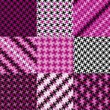 Teste padrão do enigma na magenta Imagem de Stock Royalty Free