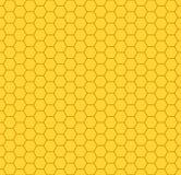 Teste padrão do favo de mel Fotografia de Stock