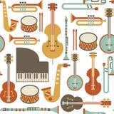 Teste padrão do jazz Imagens de Stock