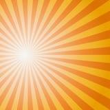 Teste padrão do Sunburst de Sun Ilustração do vetor Foto de Stock