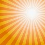 Teste padrão do Sunburst de Sun Ilustração do vetor Imagens de Stock