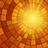 Teste padrão do Sunburst de Sun Ilustração do vetor Imagem de Stock