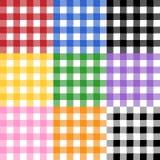 Teste padrão do Tablecloth Fotografia de Stock