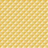 Teste padrão dourado Imagens de Stock
