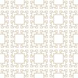 Teste padrão dourado geométrico abstrato do quadrado da arte do deco Fotografia de Stock