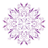 Teste padrão floral clássico Fotografia de Stock