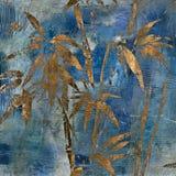 Teste padrão floral do fundo do grunge da arte Fotos de Stock