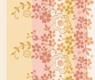Teste padrão floral oriental Foto de Stock Royalty Free
