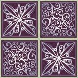 Teste padrão floral ornamentado sem emenda Fotos de Stock Royalty Free