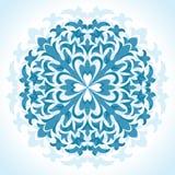 Teste padrão floral radial Fotos de Stock