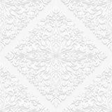 Teste padrão floral sem emenda no estilo tradicional Fotos de Stock Royalty Free