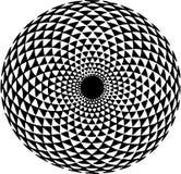 Teste padrão hipnótico Fotografia de Stock