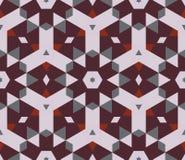 Teste padrão kaleidoscopic abstrato Fotos de Stock Royalty Free